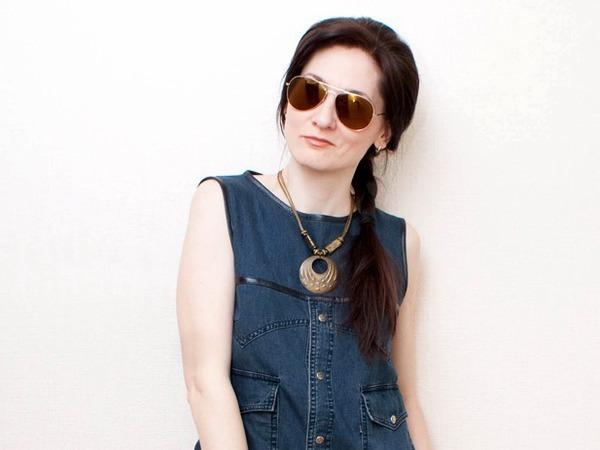 0873fc3821ff6 Как сшить стильное платье из джинсовой рубашки | Ярмарка Мастеров - ручная  работа, handmade