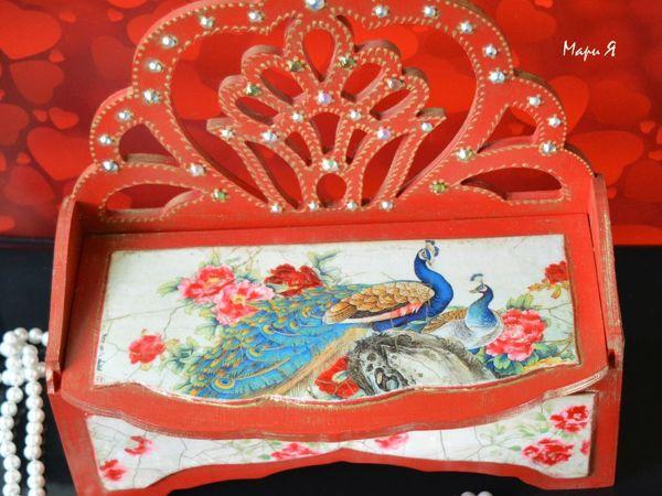 Шкатулка фен шуй для привлечения любви   «Двойное счастье»   Ярмарка Мастеров - ручная работа, handmade
