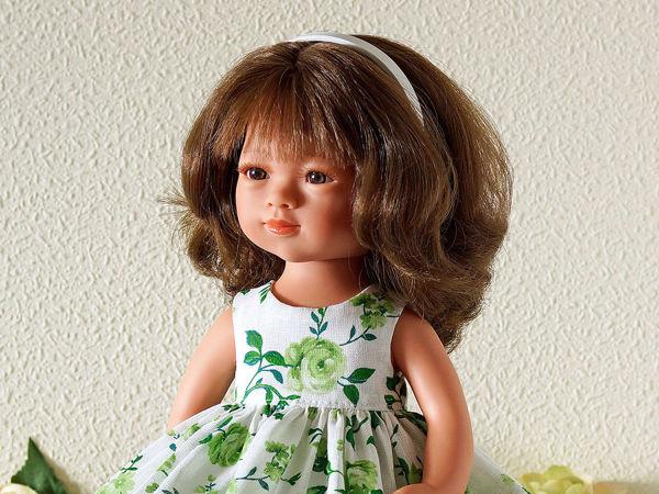 Мастер-класс: платье для куклы Мариетты Кармен Гонсалес   Ярмарка Мастеров - ручная работа, handmade