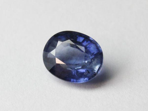 Сапфир 0,53 кар. синий натуральный   Ярмарка Мастеров - ручная работа, handmade