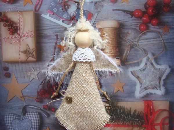 Мастер-класс по изготовлению «Новогоднего ангелочка» | Ярмарка Мастеров - ручная работа, handmade