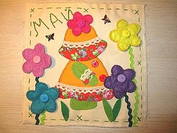 Развивающий календарь для дочки. Май   Ярмарка Мастеров - ручная работа, handmade