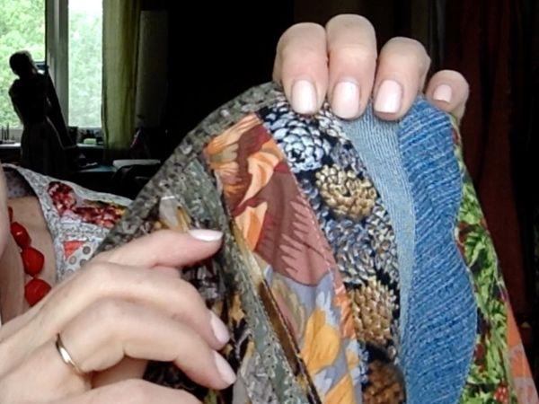 Шьем лоскутную юбку из старых джинсов. Часть 5 | Ярмарка Мастеров - ручная работа, handmade