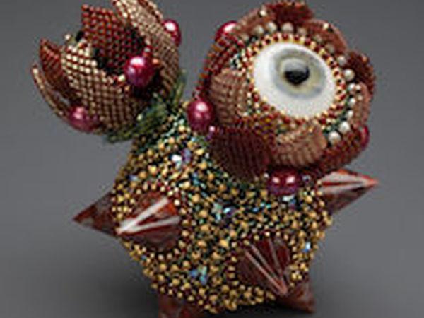 Одна из самых известных мастеров в искусстве плетения и вышивки бисером — Laura McCabe | Ярмарка Мастеров - ручная работа, handmade