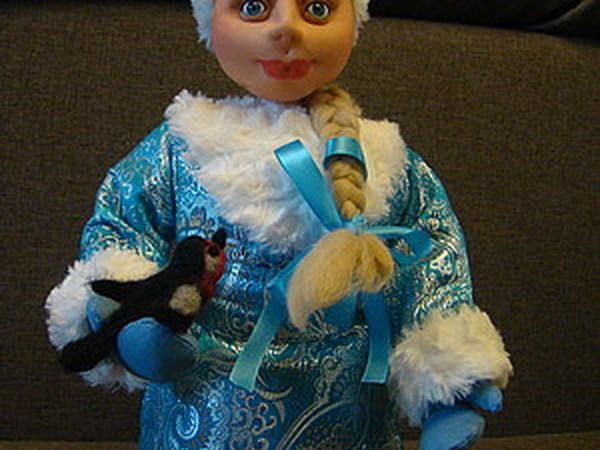 Готовимся к Новому году - шьем Снегурочку. | Ярмарка Мастеров - ручная работа, handmade