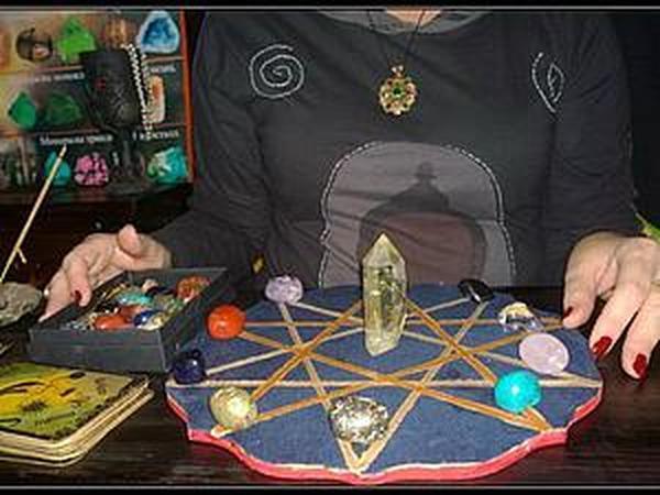 Гадание на кристаллах | Ярмарка Мастеров - ручная работа, handmade