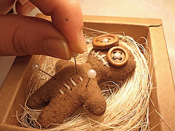 Сувенирная куколка-вуду в подарочной коробке.   Ярмарка Мастеров - ручная работа, handmade
