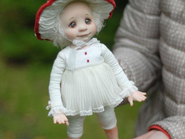 МК Статичная кукла Мухоморочка   Ярмарка Мастеров - ручная работа, handmade