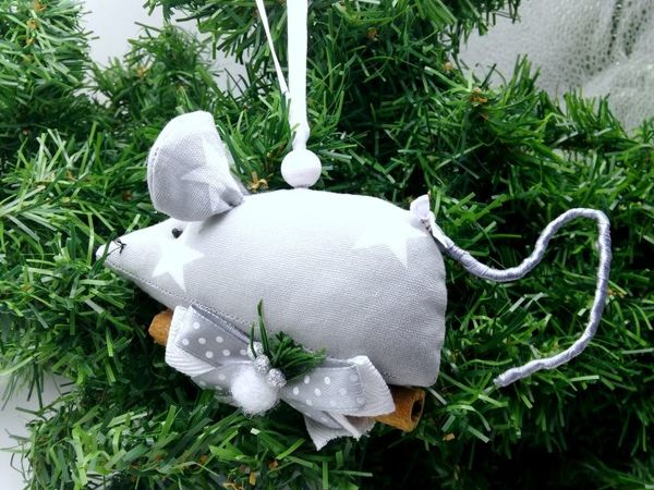 Sewing Textile Mouse | Livemaster - handmade