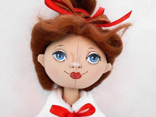Знакомьтесь! Новая текстильная кукла   Ярмарка Мастеров - ручная работа, handmade