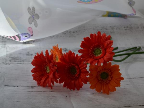 Букет с герберами | Ярмарка Мастеров - ручная работа, handmade