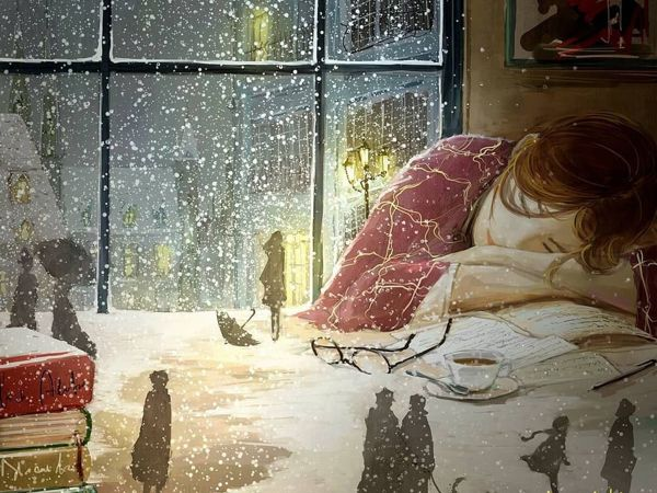 When Fairy Tale Intertwines With Reality: Touching Illustrations By Korean Artist Endmion1 | Livemaster - handmade