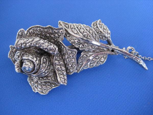 Винтажная брошь Роза Англия   Ярмарка Мастеров - ручная работа, handmade
