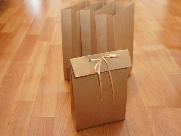 How to Make a Gift Bag Within 5 Minutes   Livemaster - handmade