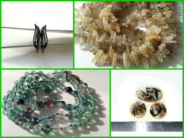 Швензы,натуральные камни,кабошоны,серебро 925.Распродажа! | Ярмарка Мастеров - ручная работа, handmade