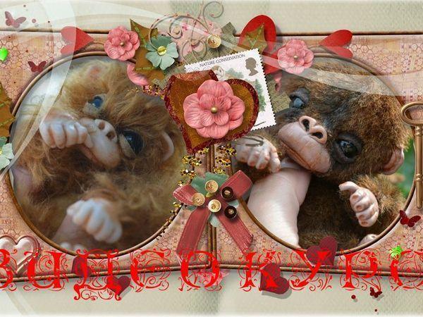 Видео мастер-класс: делаем обезьянку Madison   Ярмарка Мастеров - ручная работа, handmade
