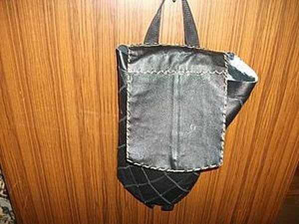 Мастер-класс: Кожаный рюкзачок из кусочков кожи. Часть 2 | Ярмарка Мастеров - ручная работа, handmade