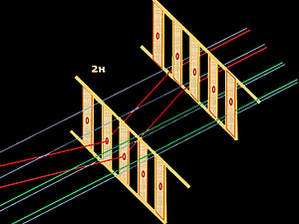 Как выполнить  4х-ремизный ткацкий узор на настольном ткацком станке с двумя бёрдышками   Ярмарка Мастеров - ручная работа, handmade