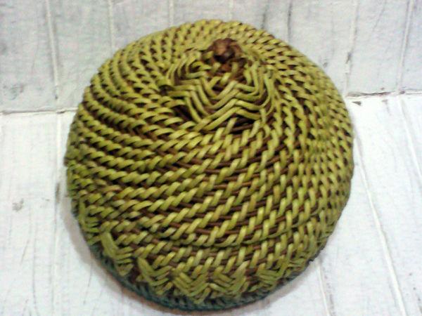 Мастерим колосок в технике плетение корнем | Ярмарка Мастеров - ручная работа, handmade