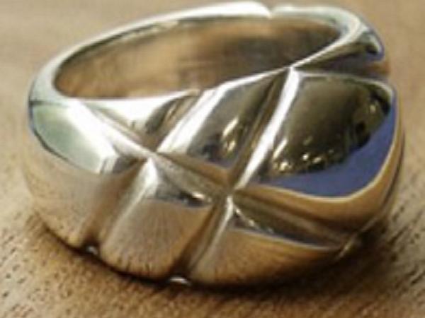 Делаем серебряное кольцо с текстурным рисунком | Ярмарка Мастеров - ручная работа, handmade