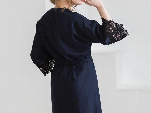 Завершен.Аукцион! Халат-кимоно из полульна с итальянским макраме, старт 2500 руб | Ярмарка Мастеров - ручная работа, handmade