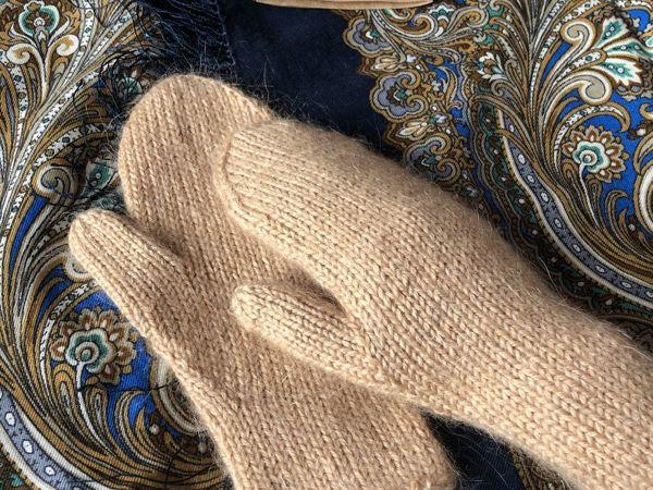 Вяжем базовые варежки спицами | Ярмарка Мастеров - ручная работа, handmade