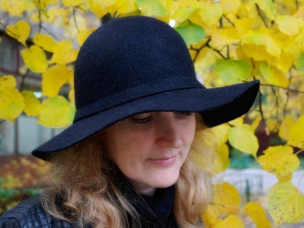 МК Натальи Сафоновой по валянию шляпы 15 октября   Ярмарка Мастеров - ручная работа, handmade