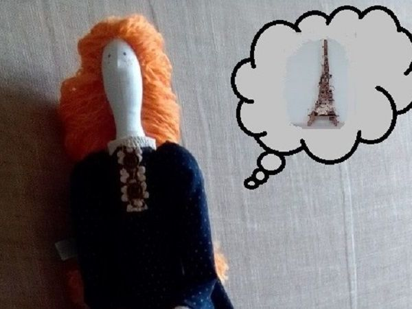 Истории из мира игрушек: Соня в Париже | Ярмарка Мастеров - ручная работа, handmade