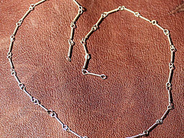 Кручение цепочки из проволоки на самодельном станке | Ярмарка Мастеров - ручная работа, handmade