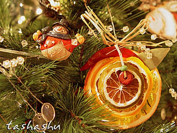 Апельсиновый декор для елки: мастер-класс | Ярмарка Мастеров - ручная работа, handmade