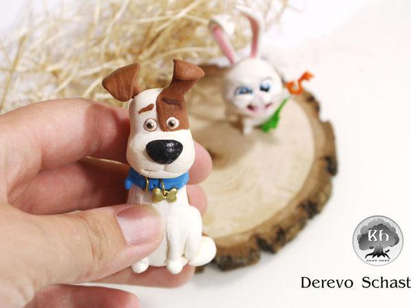 Видео мастер-класс: лепим фигурку Макса из мультфильма «Тайная жизнь домашних животных» | Ярмарка Мастеров - ручная работа, handmade