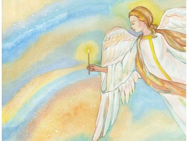 Об Ангелах слово скажу | Ярмарка Мастеров - ручная работа, handmade
