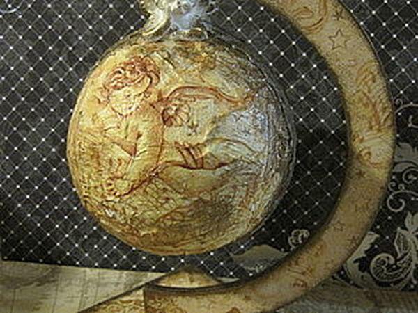 Готовим сани летом. Делаем новогодние шары | Ярмарка Мастеров - ручная работа, handmade