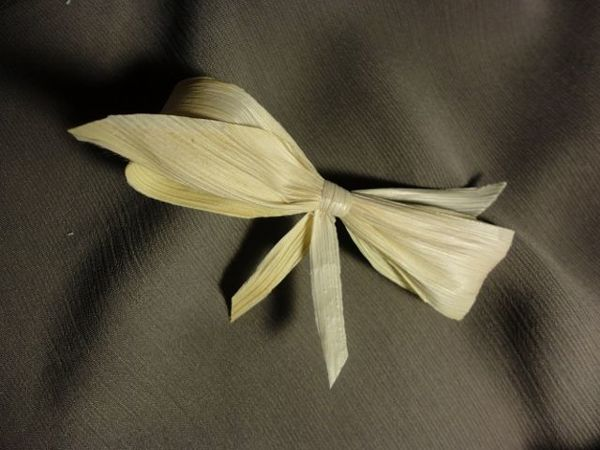 DIY Bows of Corn Leaves, Eco-friendly and Unusual | Livemaster - handmade