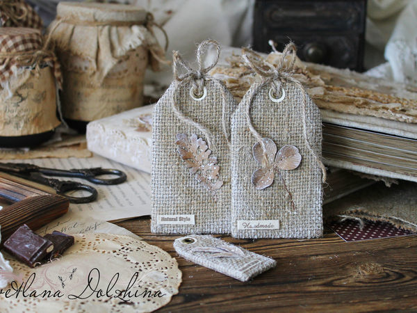 How to Make Fabric Tags for Your Crafts | Livemaster - handmade