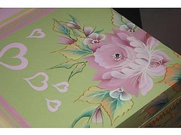 Декорируем шкатулочку «Для любимых» | Ярмарка Мастеров - ручная работа, handmade