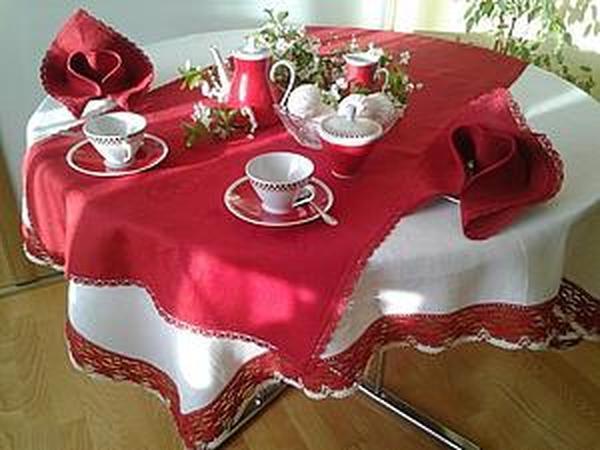 Новые вариации сервировки стола нашими изделиями | Ярмарка Мастеров - ручная работа, handmade