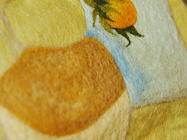 Рисунок на войлок.Отчёт Москва.13.04.2013. | Ярмарка Мастеров - ручная работа, handmade