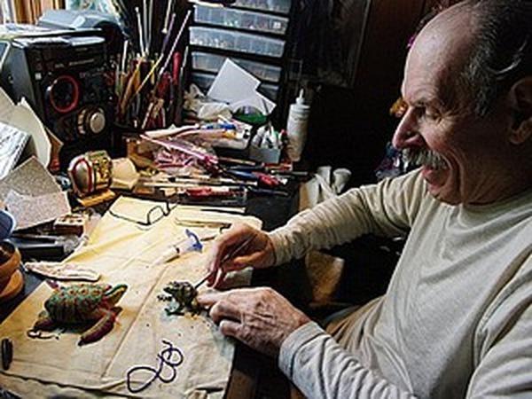 Бисерный мир удивительных художников. Супруги Tom and Kathy Wegman   Ярмарка Мастеров - ручная работа, handmade