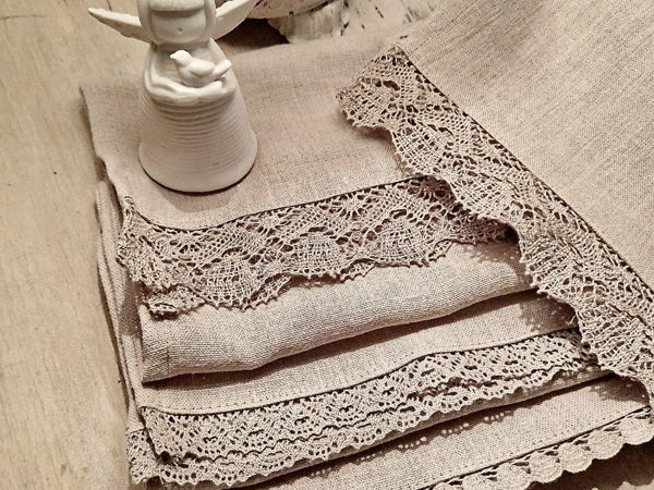 Полотенце льняное | Ярмарка Мастеров - ручная работа, handmade