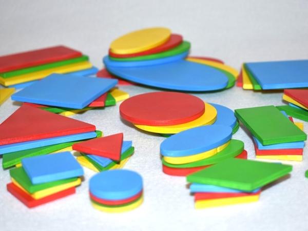 Для чего нужны геометрические фигуры. Часть 1 | Ярмарка Мастеров - ручная работа, handmade