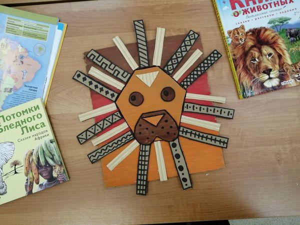 Создаем панно  «Африканский лев» | Ярмарка Мастеров - ручная работа, handmade