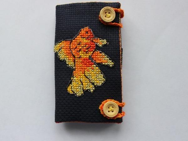 Шьем игольницу и чехол для ножниц 2 в 1 «Золотая рыбка» | Ярмарка Мастеров - ручная работа, handmade