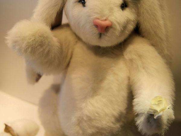 Создаем игрушечного зайца | Ярмарка Мастеров - ручная работа, handmade