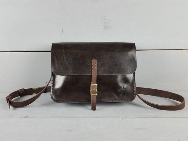 Шьем из кожи сумку-унисекс   Ярмарка Мастеров - ручная работа, handmade