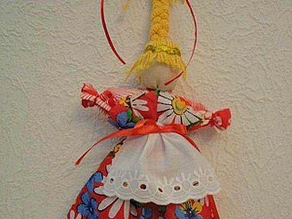 Веснянка — традиционная народная кукла своими руками | Ярмарка Мастеров - ручная работа, handmade