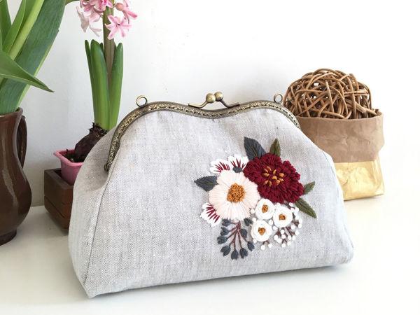 Шьем сумку с пришивным фермуаром | Ярмарка Мастеров - ручная работа, handmade
