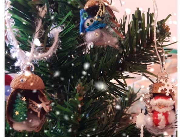Создаем новогоднюю сказку в желудях   Ярмарка Мастеров - ручная работа, handmade