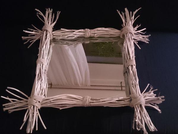 Оформляем рамку для зеркала в рустикальном стиле: работаем с виноградной лозой | Ярмарка Мастеров - ручная работа, handmade