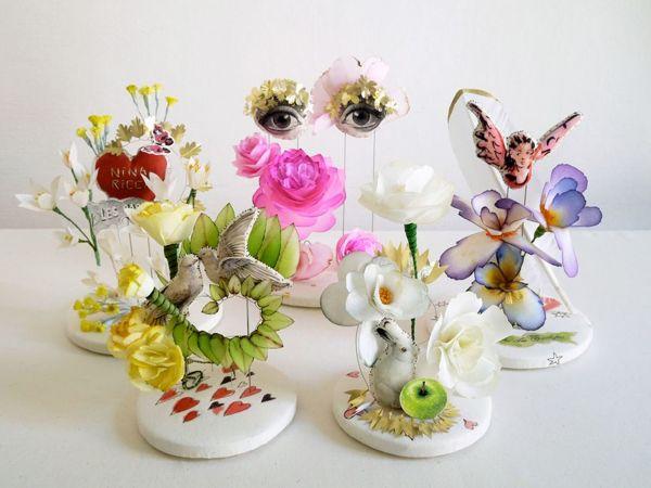 Интригующие скульптуры из текстиля от Линди Доурти (Lyndie Dourthe)   Ярмарка Мастеров - ручная работа, handmade